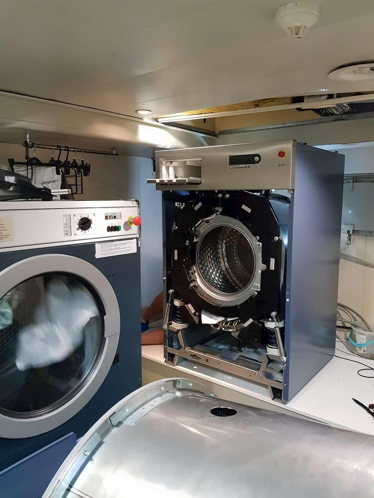 Réparation de machine à laver avec SPD 06